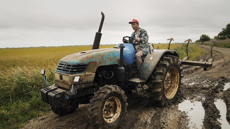 kitaйskiй traktorist