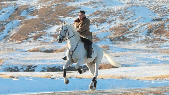 Kim Džong-Un: Vrhovni vođa Severne Koreje jaše po svetoj planini 4