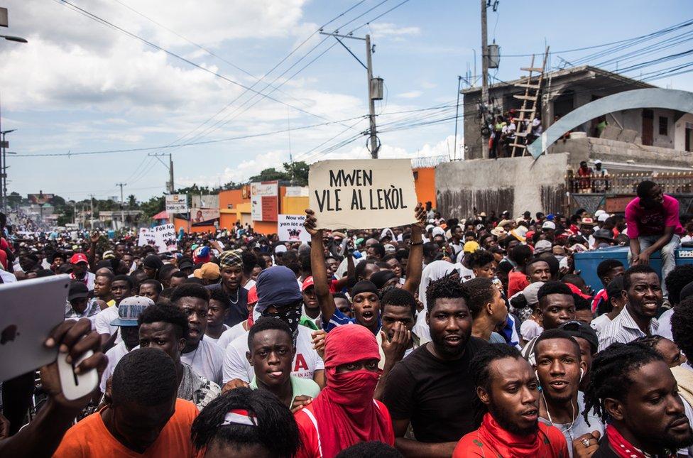 protesti na haitiju