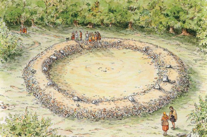 Spomenik iz bronzanog doba pronađen u šumi u Engleskoj 3