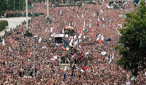 Centar za demokratiju: Slaviti 5. oktobar kao jedan od najznačajnijih datuma novije istorije Srbije 13