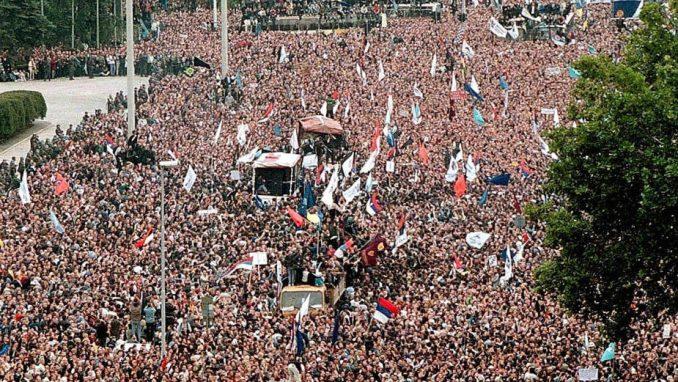Centar za demokratiju: Slaviti 5. oktobar kao jedan od najznačajnijih datuma novije istorije Srbije 4