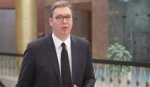 Predsednik Srbije u Beogradu dočekuje teretni voz iz Kine 2