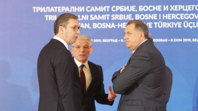 Dodik: Tražiću razumevanje Vučića za situaciju u kojoj se RS našla 2