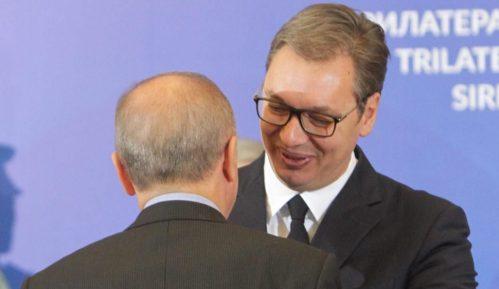 Erdogan razgovarao sa Tačijem i Vučićem 1
