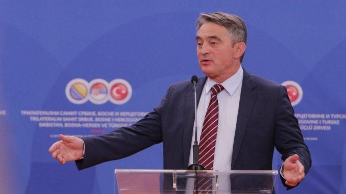 Komšić demantovao da je kandidovao Čedomira Jovanovića za funkciju u BiH 2
