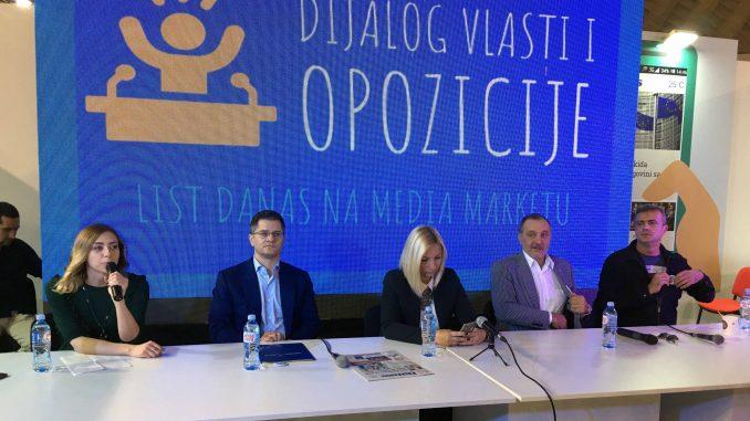 Predstavnici opozicije: Vlast nema hrabrosti za razmenu mišljenja 2