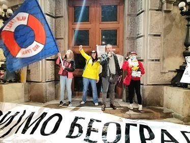 Protest protiv zagađenja vazduha (FOTO/VIDEO) 4