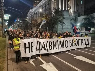 Protest protiv zagađenja vazduha (FOTO/VIDEO) 2