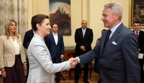 Brnabić i Havisto: Ima prostora za unapređenje dobrih odnosa Srbije i Finske 6