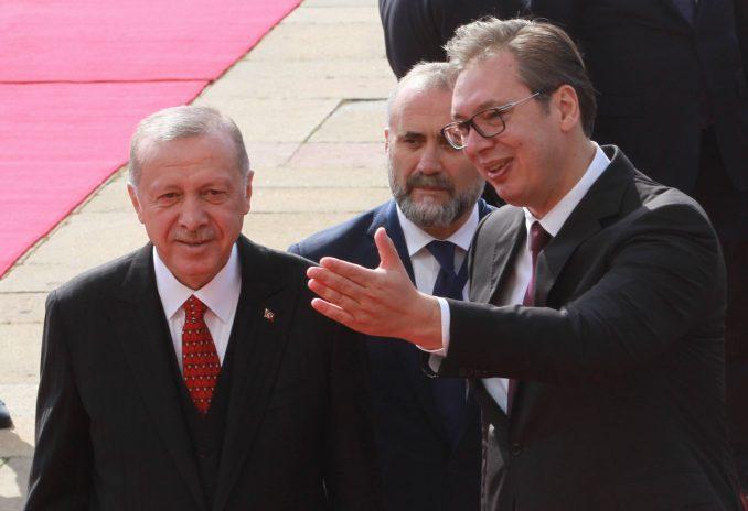 """Vučić sa Erdoganom: Kad dve države imaju dobre odnose, onda """"uvek imamo mir"""" 4"""