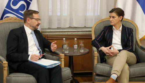Brnabić i generalni sekretar OEBS-a razgovarali o Medijskoj strategiji 3