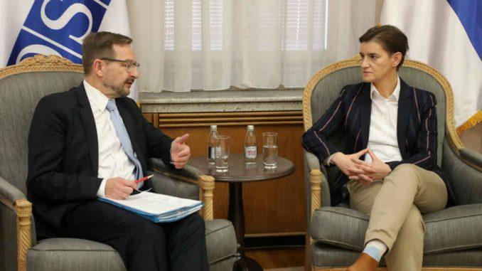 Brnabić i generalni sekretar OEBS-a razgovarali o Medijskoj strategiji 1