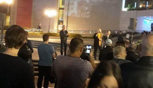 Protest Saveza za Srbiju u Novom Sadu u znaku podrške radniku iz Kuršika 8