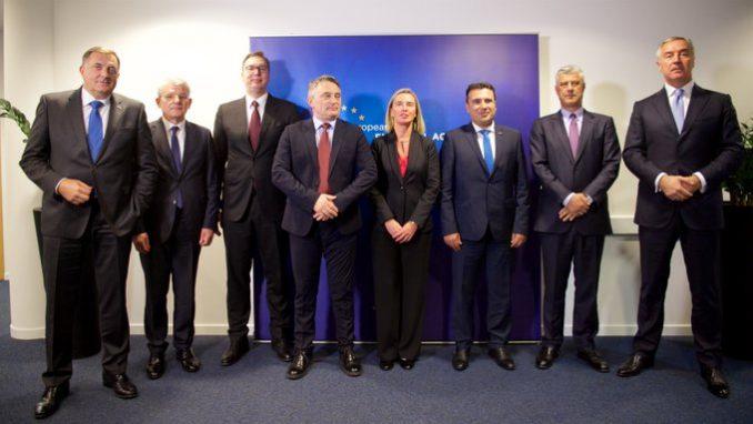 Mogerini i vođe Zapadnog Balkana: Integracija Zapadnog Balkana u EU ostaje ključni cilj 2