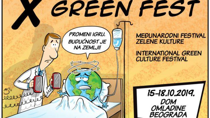 Green fest od 15. do 18. oktobra u Domu omladine Beograda 4