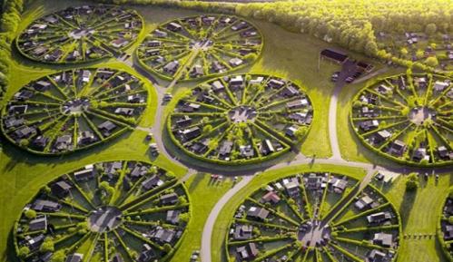 """""""Vrtni grad"""" u Danskoj kružno projektovan s razlogom 4"""