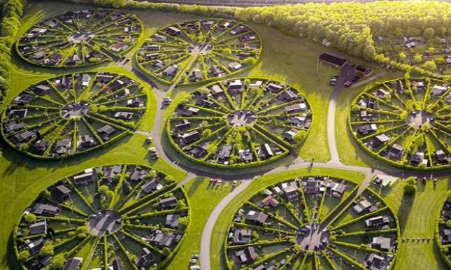 """""""Vrtni grad"""" u Danskoj kružno projektovan s razlogom 1"""