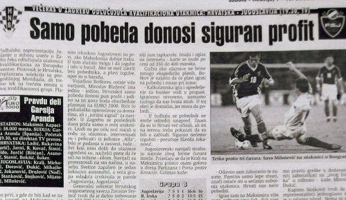 Kako su izgledali mečevi jugoslovenskih i hrvatskih fudbalera pre dve decenije? 10