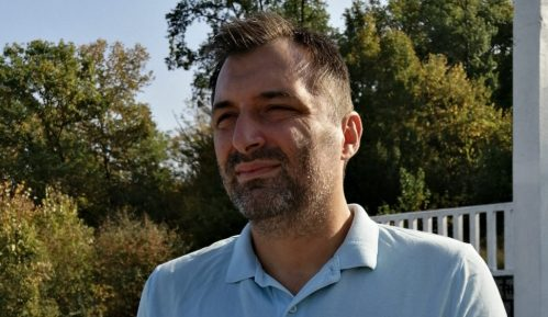Aleksandar Obradović 21. decembra na protestu 1 od 5 miliona u Beogradu 15