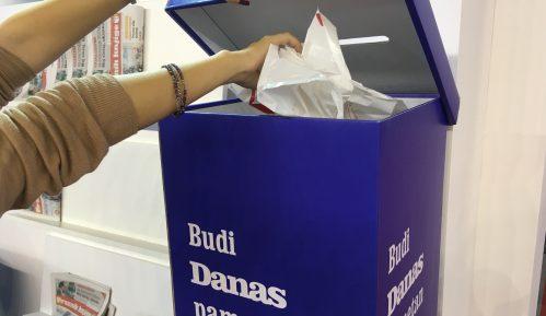 Na sajmu 2.500 ljudi zamenilo plastične kese cegerima (VIDEO) 1