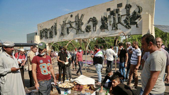 Šest osoba poginulo na protestima u Iraku 3