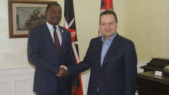 Dačić sa predstavnikom Kenije o odnosima dve zemlje 4