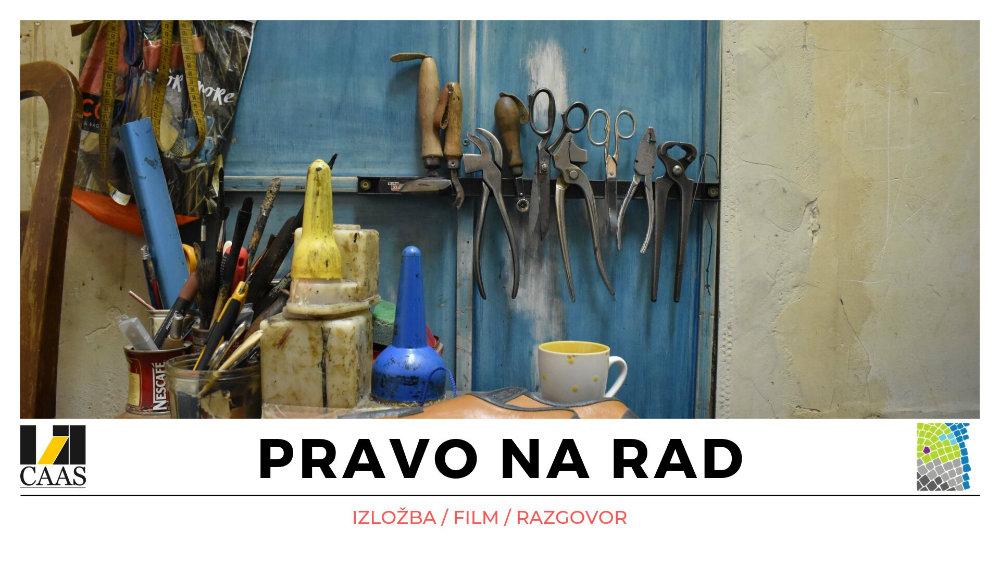 "Izložba fotografija ""Pravo na rad"" 18. i 19. oktobra 1"