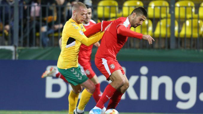 Mitrović sa dva gola doneo pobedu Srbiji nad Litvanijom 1