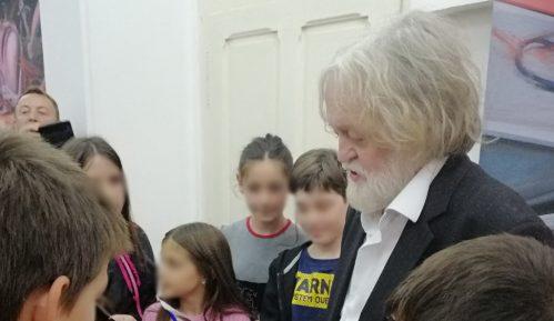 """Izložba """"U čast Zoranu Radmiloviću""""  Miloša Šobajića u Zaječaru 12"""