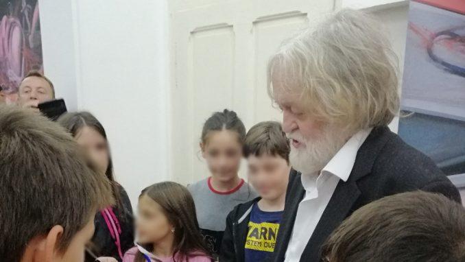 """Izložba """"U čast Zoranu Radmiloviću""""  Miloša Šobajića u Zaječaru 4"""