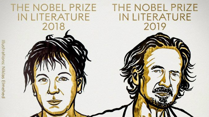 Proglašeni dobitnici Nobelove nagrade za književnost za 2018. i 2019. godinu 1