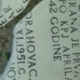 Orahovac: Polomljena spomen ploča posvećena borcima iz Drugog svetskog rata 8