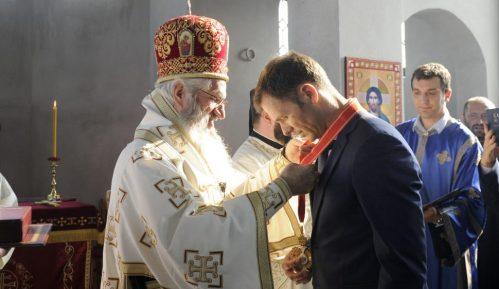 Siniši Malom orden Velikomučenika Kragujevačkih prvog stepena 6