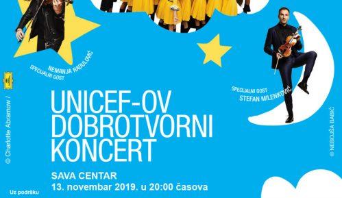 UNICEF-OV dobrotvorni koncert 13. novembra u Sava Centru 14