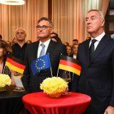 Đukanović na prijemu povodom Dana nemačkog ujedinjenja 6