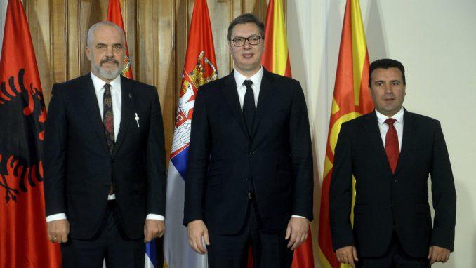 Vučić, Zaev i Rama potpisali dokument o slobodnom protoku robe, usluga, ljudi i kapitala 1