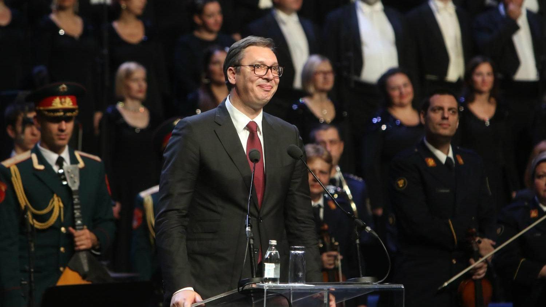 Vučić na svečanoj akademiji: Srbija neće dati svoju slobodu 2