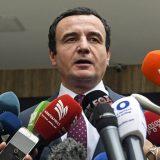Kurti: 27. juna u Vašingtonu predstavnicima Beograda i Prištine serviraće se sporazum 6