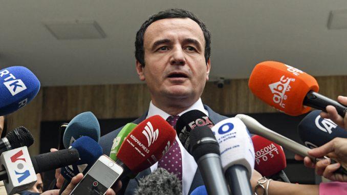 Kurti: 27. juna u Vašingtonu predstavnicima Beograda i Prištine serviraće se sporazum 4