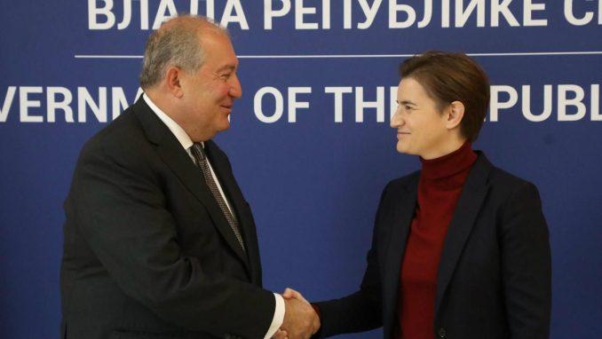 Branabić sa jermenskim predsednikom: Beograd namerava da otvori ambasadu u Jerevanu 1