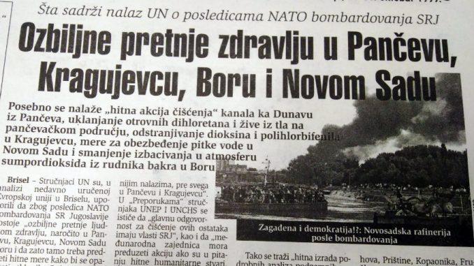 Ozbiljne pretnje zdravlju u gradovima Srbije i pre 20 godina 1