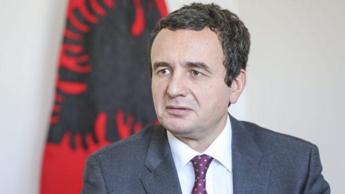Kurti: Zvaničnici Kosova nisu imali odobrenje Vlade da potpišu pismo o namerama 4