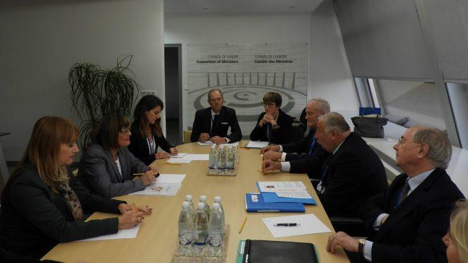 Gojković u Strazburu sa predsednikom Senata Francuske o evrointegracijama, regionu i Kosovu 1
