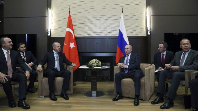 Erdogan i Putin se dogovorili o povlačenju kurdskih boraca u roku od 150 sati 2
