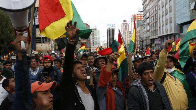 Demonstranti u Boliviji zauzeli dva državna medija 1