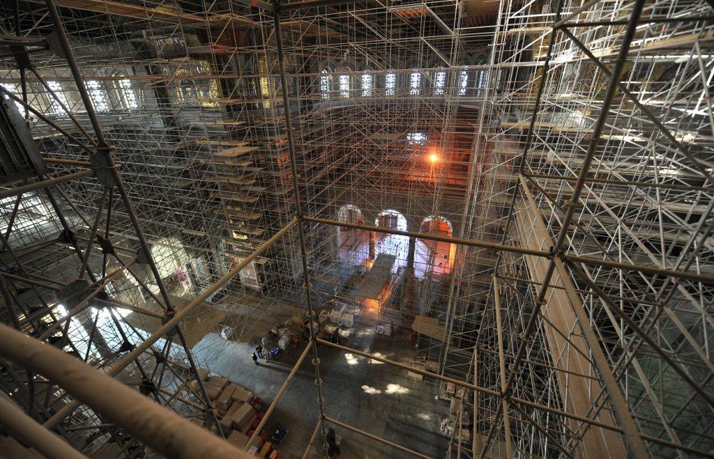 Vesić: Završetak radova u Hramu Svetog Save oktobar 2020. (FOTO) 2