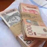 U Srbiji u aprilu prosečna neto zarada 64.948 dinara 15