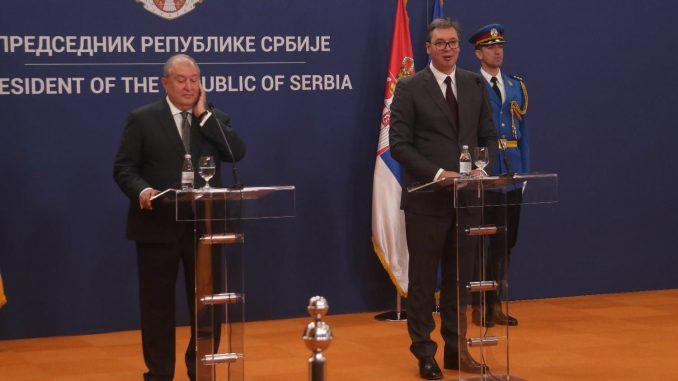 Vučić: Srbija otvara ambasadu u Jerevanu i ukida vize za građane Jermenije 4