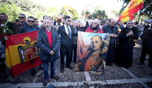 Posmrtni ostaci Franciska Franka ekshumirani iz mauzoleja 8